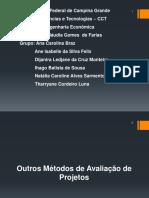 VPL e outros métodos