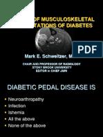 MSK Diabetes manifestation