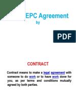 Model EPC Contract