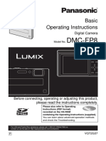 Panasonic DMC-FP8 Basic Operating Instructions