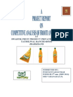 Frooti Project by Puru