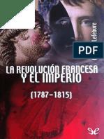 Lefebvre Georges La Revolución Francesa y El Imperio .epub