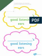 T L 1319 Good Listening Ear Head Bands Ver 1