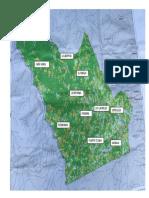 Mapa Tejada