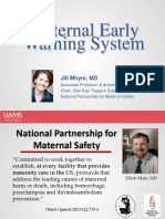 Maternal Early Warning System