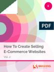 Smashing eBooks 64 How to Create Selling e Commerce Websites Vol 2