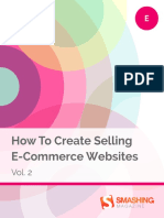 Smashing eBooks 64 How to Create Selling e Commerce Websites Vol 2