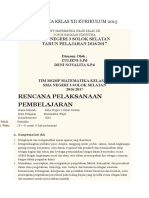 Rpp Statistika Kelas Xii Kurikulum 2013 Revisi