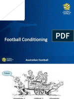 Periodization Football Conditioning