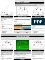 Ross Flintoft - Coaching Session Planner -- u9-u11 New Practices