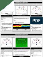 Ross Flintoft - Coaching Session Planner -- u9-u11 New Practices
