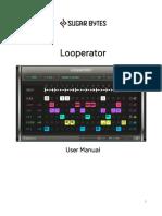 Looperator Manual English
