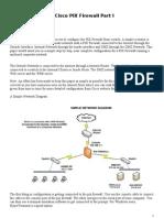 Cisco Pix 515E Firewall Configuration