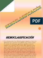 Hemoclasificación Trabajo - Copia