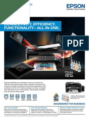 Epson L565 pdf | Image Scanner | Fax