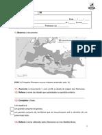 história e geografia de portugal 5º ano teste b