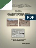 Informe Hidrologia Acari