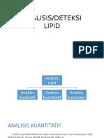 Analisis Lipid Ppt