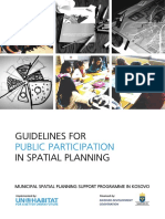 Guidelines for Public Participation in Spatial Planning