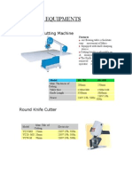 Cutting Equipments