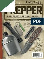 American Survival Guide, Prepper Survival Field Manual - Spring 2017