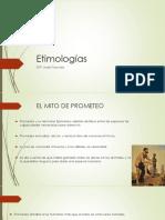 Etimologías Prometeo