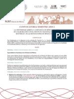 Convocatoria EEHM 2018-2