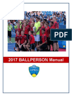 Western and Southern Open 2017 Ballboy Manual