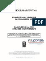 Manual de Instalacion y Mantenimiento BOMBAS de DOBLE DIIAFRAGMA
