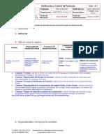 SINEC-NIII-CAL-21 Rev a Verificacion y Control de Particulas