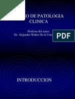 Curso de Patologia Clinica i Introducción y Toma de Muestra