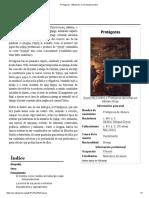 Protágoras - Wikipedia, La Enciclopedia Libre