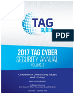 Volume 3 TAG Cyber Security Annual Vendor Listings