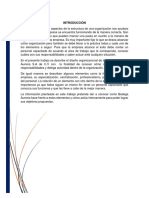 Analisis de La Estructura Organizacional de Bodega Aurrera
