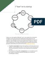 Resumen Lean Startup