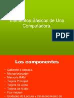 Elementos Basicos de Una Computadora