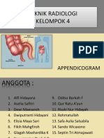 Ppt Appendikogram Kelompok 4