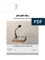2n Sip Mic User Manual en 1.0