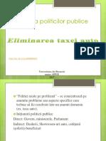 APPUE-Analiza Politicilor Publice