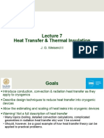 Heat Transfer and Thermal Insulation