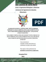 Elaboracion de Mistela de Zumo de Manzana - Nacin
