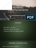 MAIN Reading Comprehension
