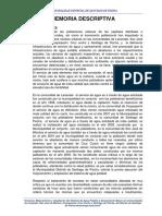 1.4. Memoria Descriptiva Pischa