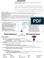 Shakespeare Handout.ppt