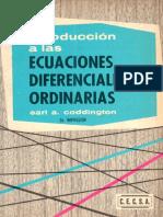 Introducción a las Ecuaciones Diferenciales Ordinarias 2a Ed. - Earl A. Coddington [CECSA] (1).pdf