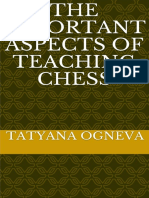 The Important Aspects of Teaching Chess - Tatyana Ogneva