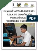 "PLAN DE ACTIVIDADES DEL AIP 5127 ""M.J.O"" -VENTANILLA"