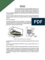 Resumen Filtración y Sedimentación