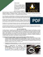 Sistema Operativo Linux