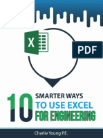 10 Smarter Ways to Use Excel for Engineering